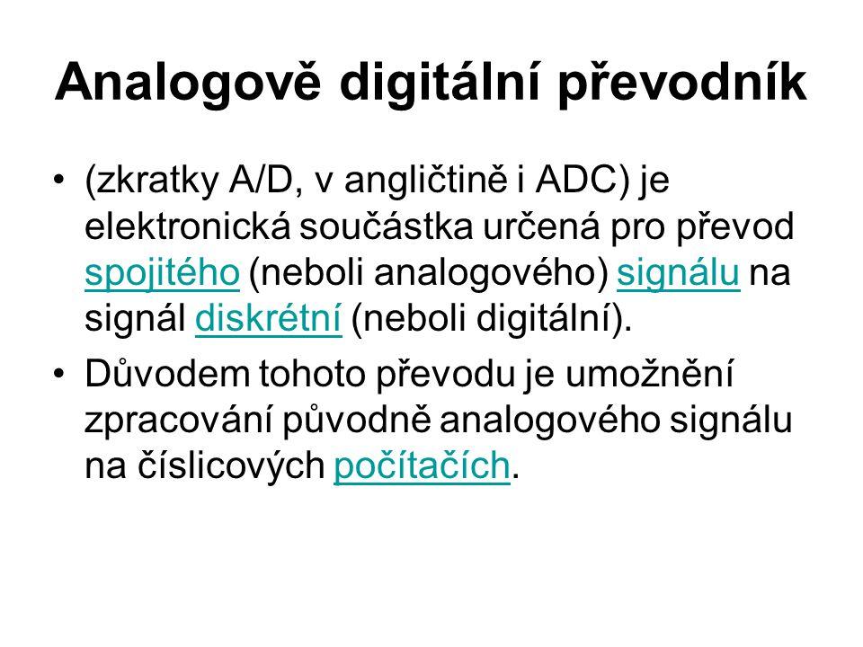 Analogově digitální převodník
