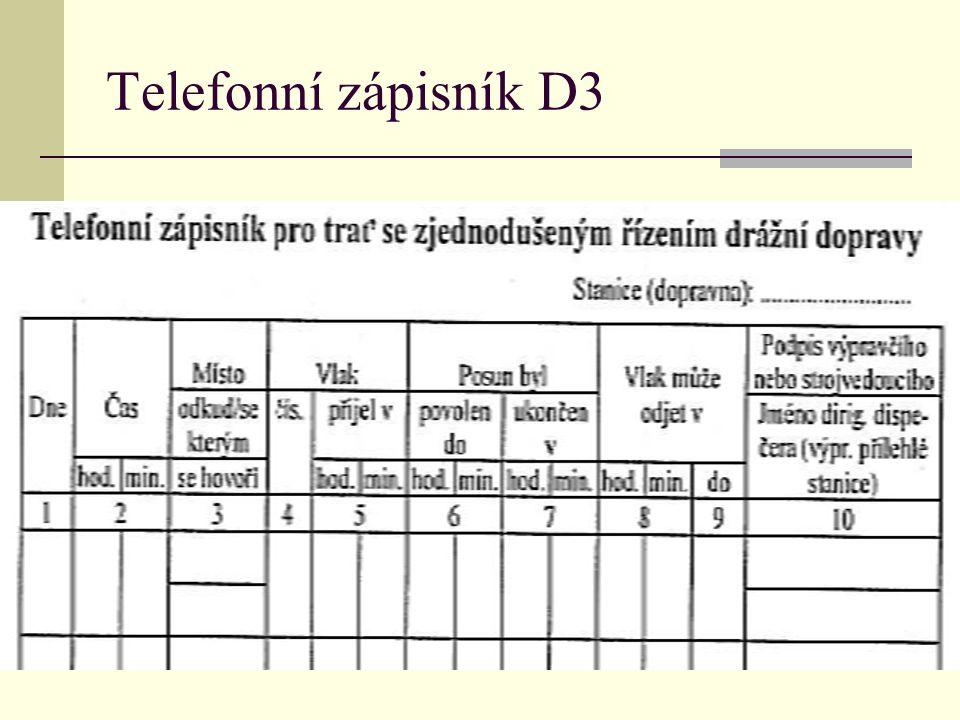Telefonní zápisník D3