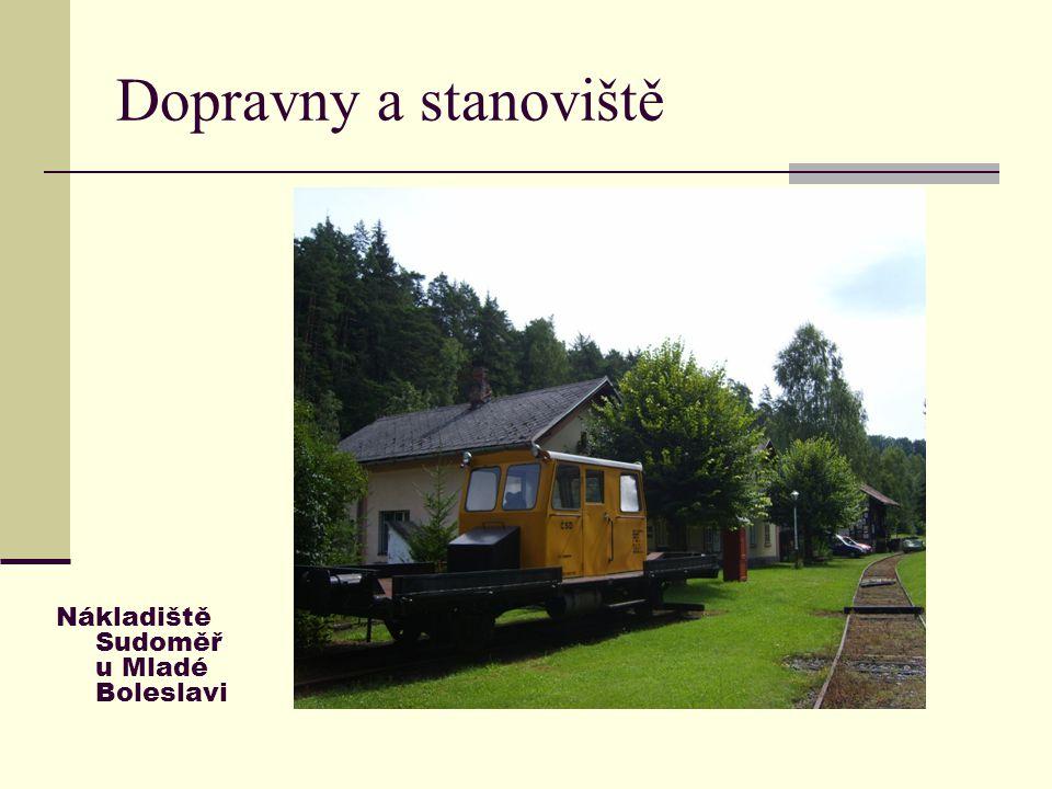 Dopravny a stanoviště Nákladiště Sudoměř u Mladé Boleslavi 7