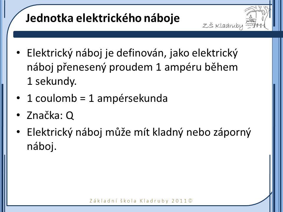 Jednotka elektrického náboje
