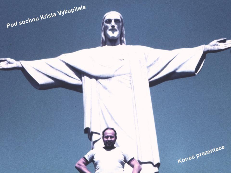 Pod sochou Krista Vykupitele