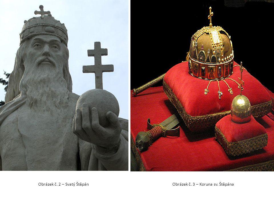 Obrázek č. 3 – Koruna sv. Štěpána