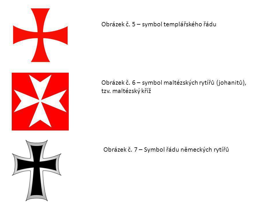 Obrázek č. 5 – symbol templářského řádu
