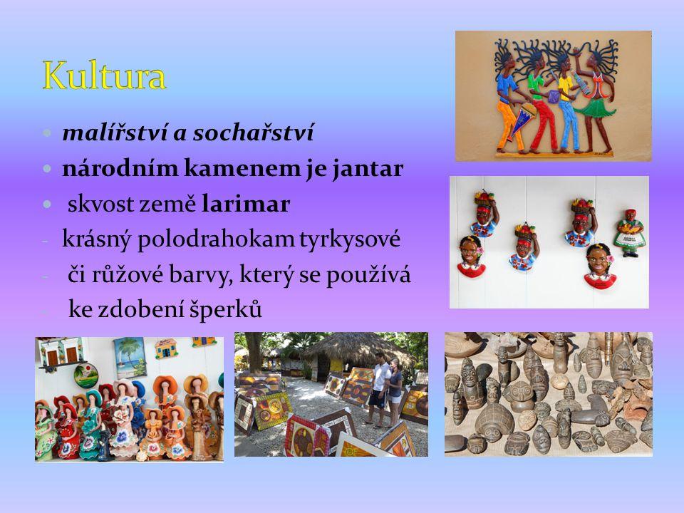Kultura malířství a sochařství národním kamenem je jantar