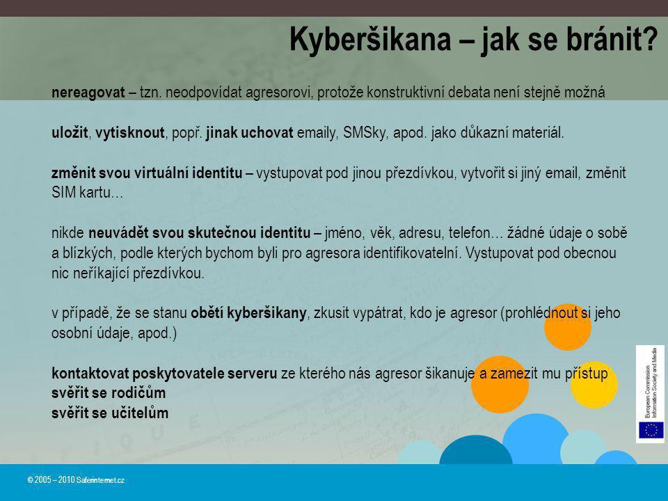 Kyberšikana – jak se bránit