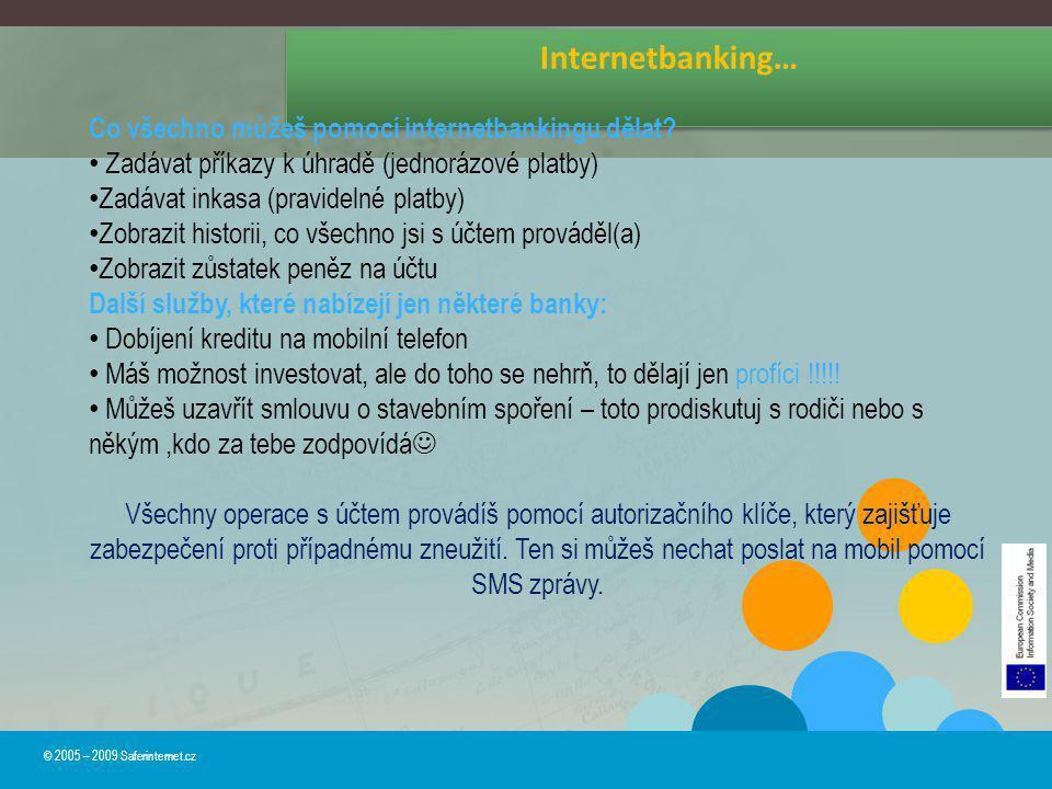 Internetbanking… Co všechno můžeš pomocí internetbankingu dělat