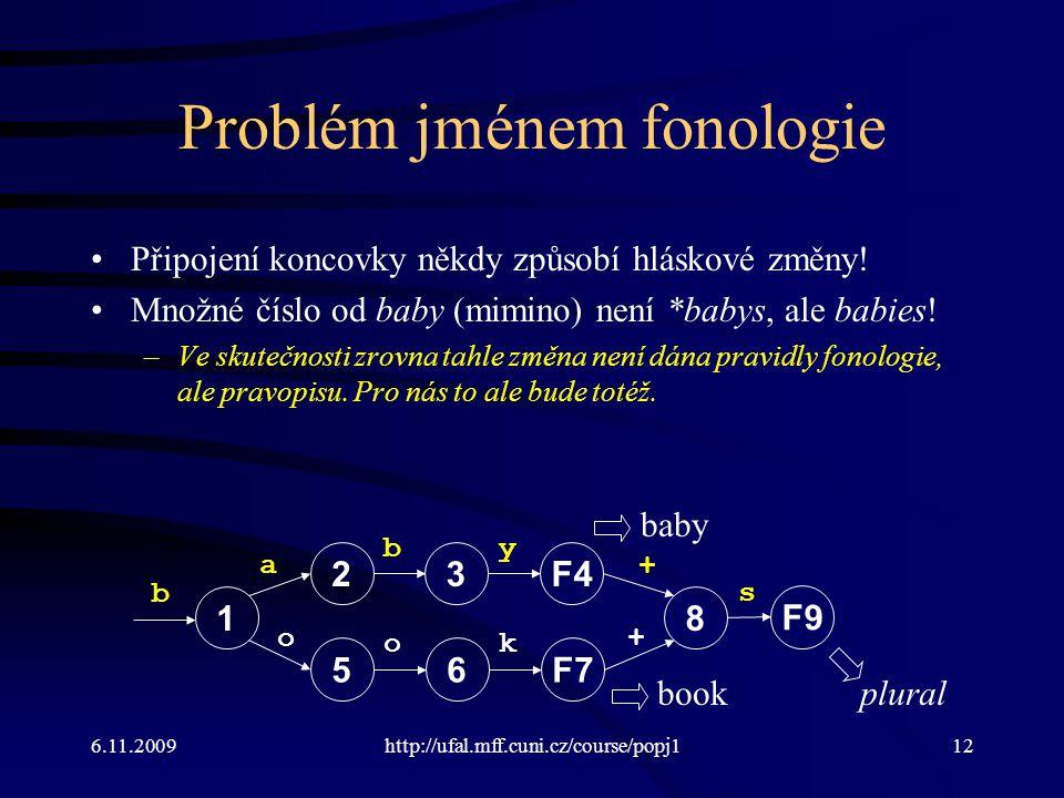 Problém jménem fonologie