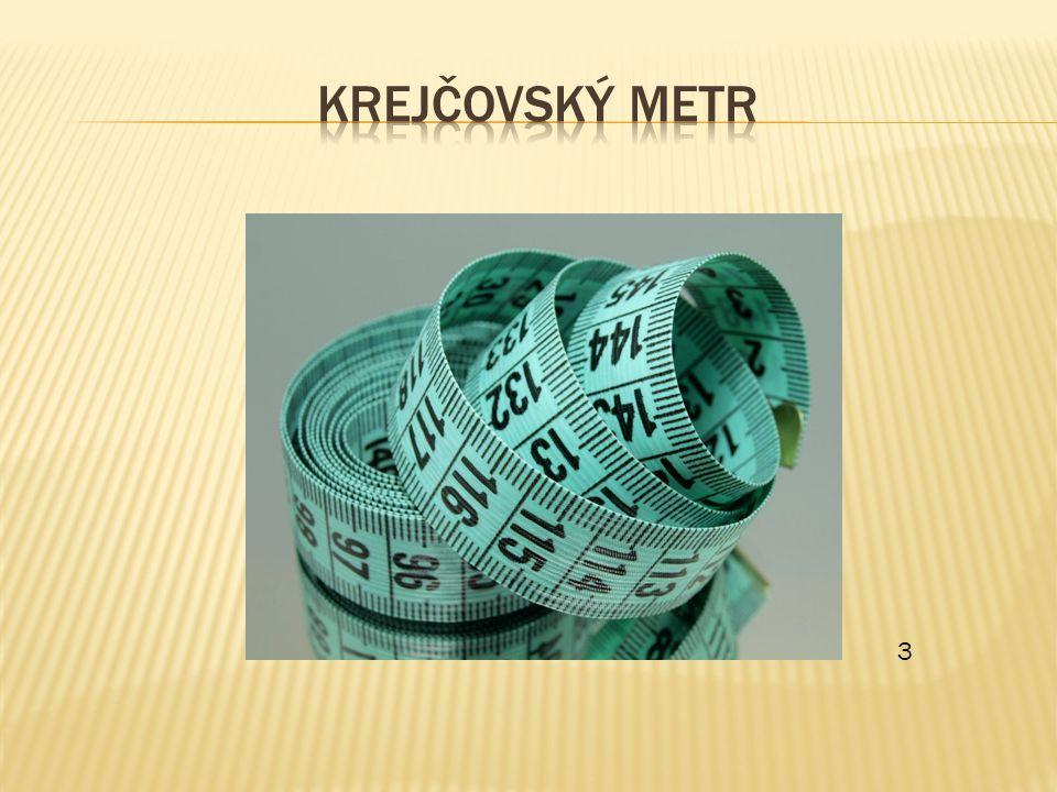 Krejčovský metr 3
