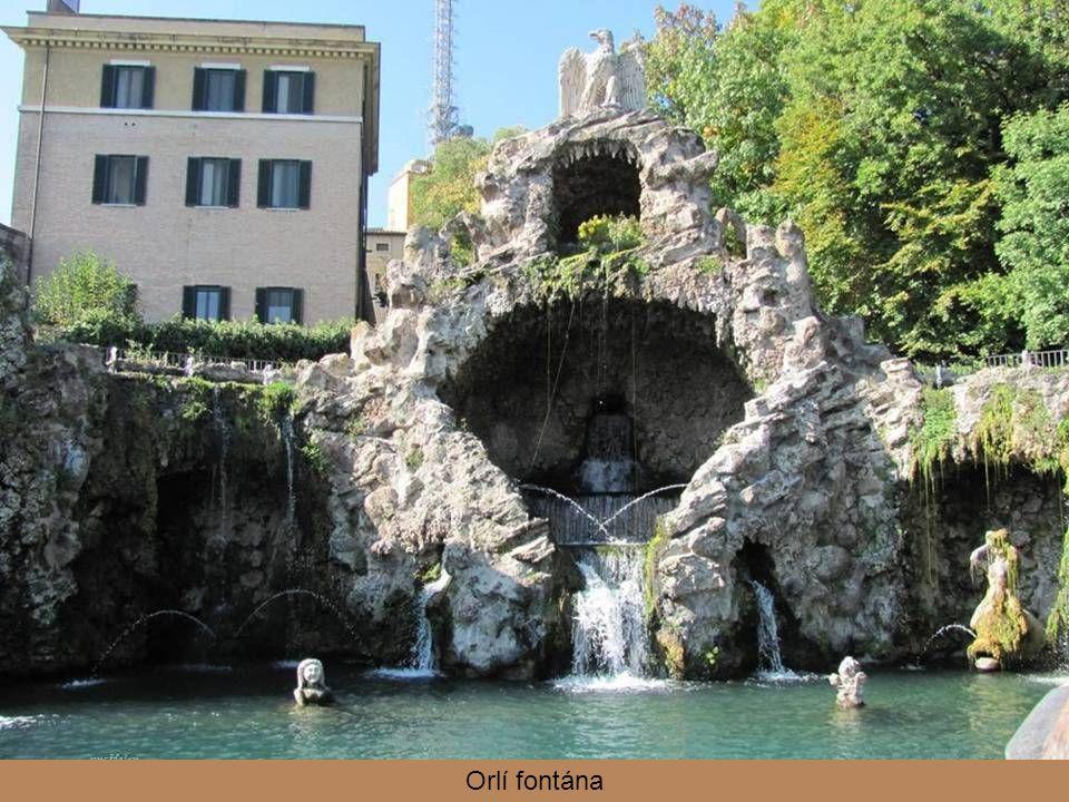 Orlí fontána