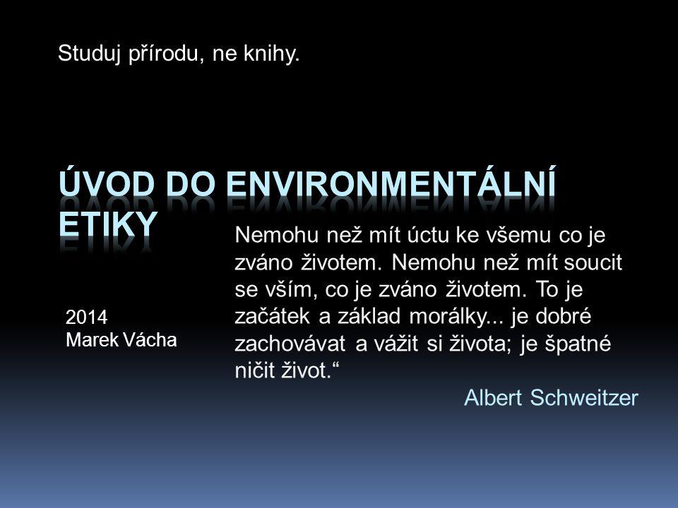 Úvod do environmentální etiky
