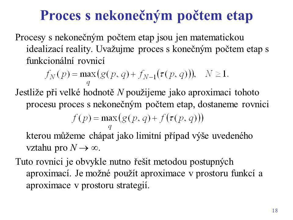 Proces s nekonečným počtem etap