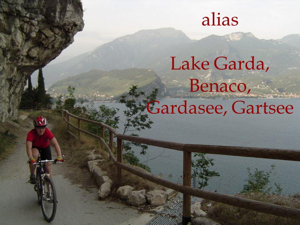 alias Lake Garda, Benaco, Gardasee, Gartsee