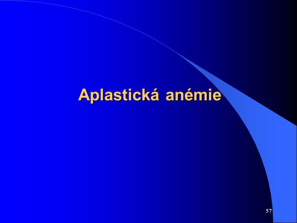 Aplastická anémie