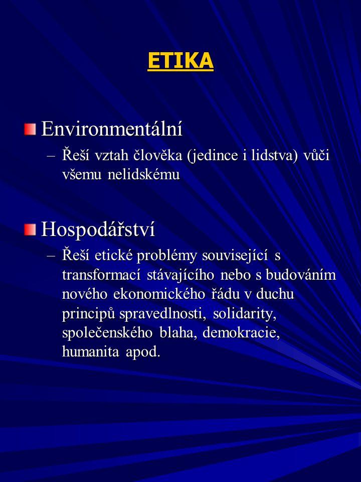 ETIKA Environmentální Hospodářství
