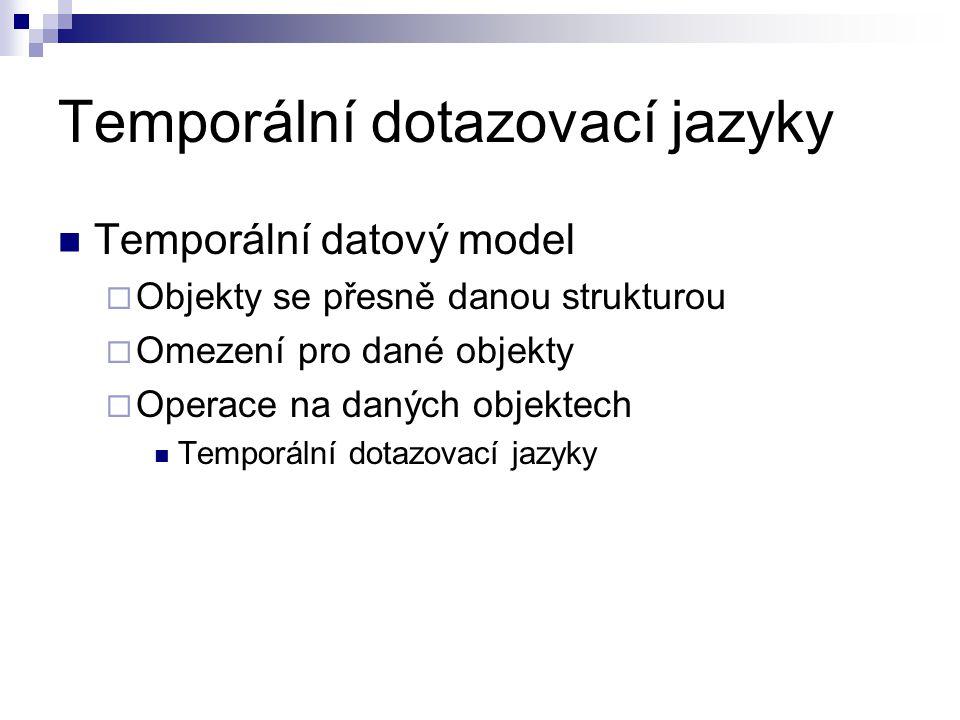 Temporální dotazovací jazyky