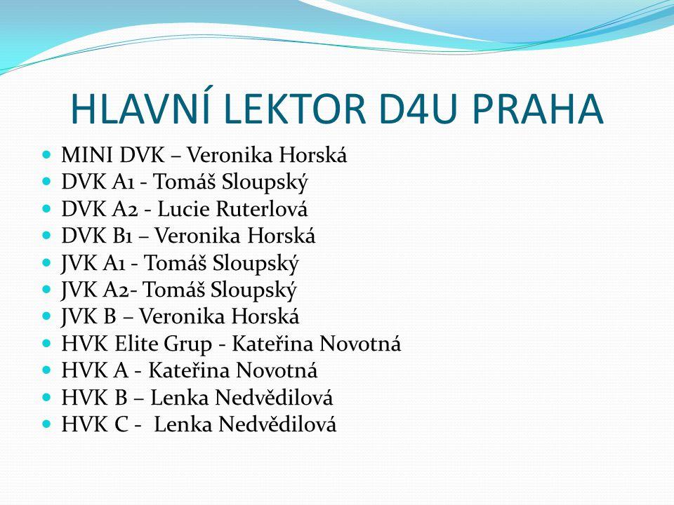 HLAVNÍ LEKTOR D4U PRAHA MINI DVK – Veronika Horská