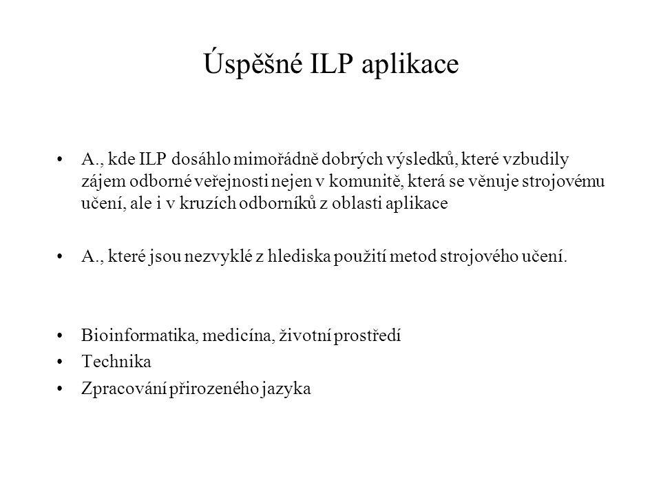 Úspěšné ILP aplikace