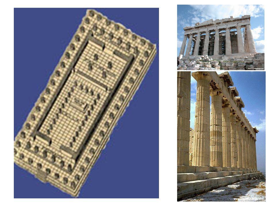 Parthenon detaily: je to oktastylos