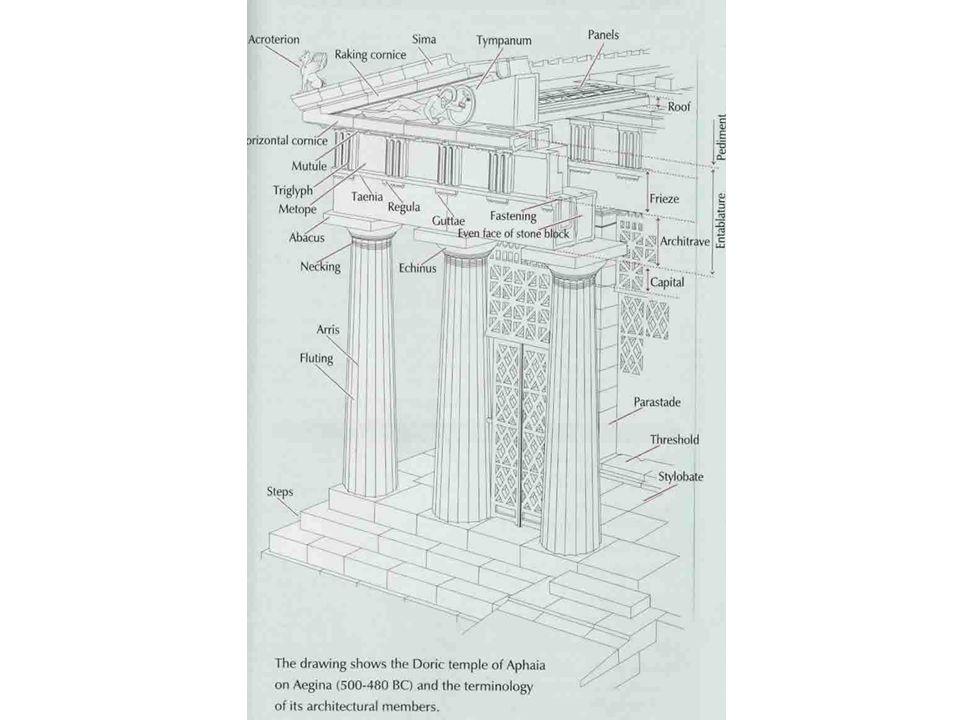 Dórský chrám v Aigíně z doby 500-480 př. n. l