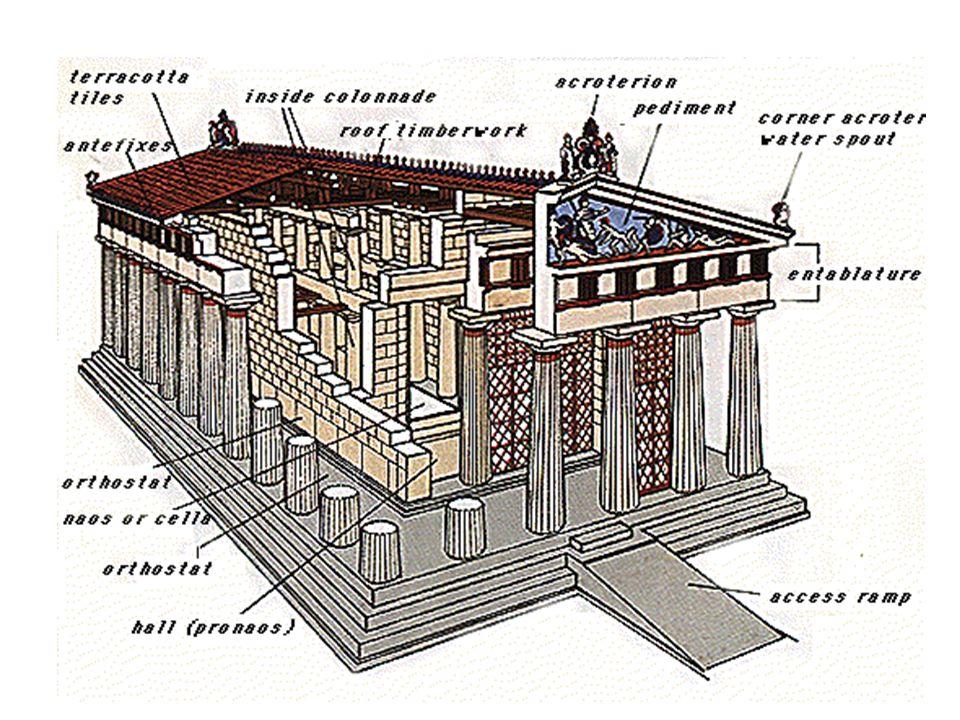 Rekonstrukce dórského chrámu