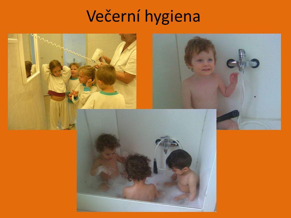 Večerní hygiena