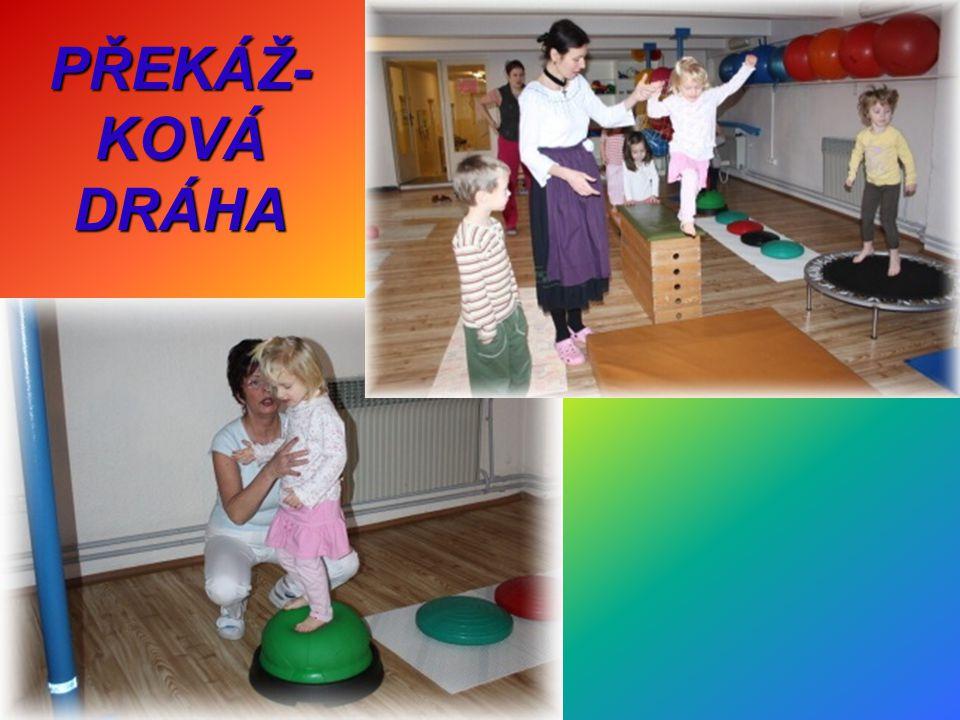 PŘEKÁŽ- KOVÁ DRÁHA
