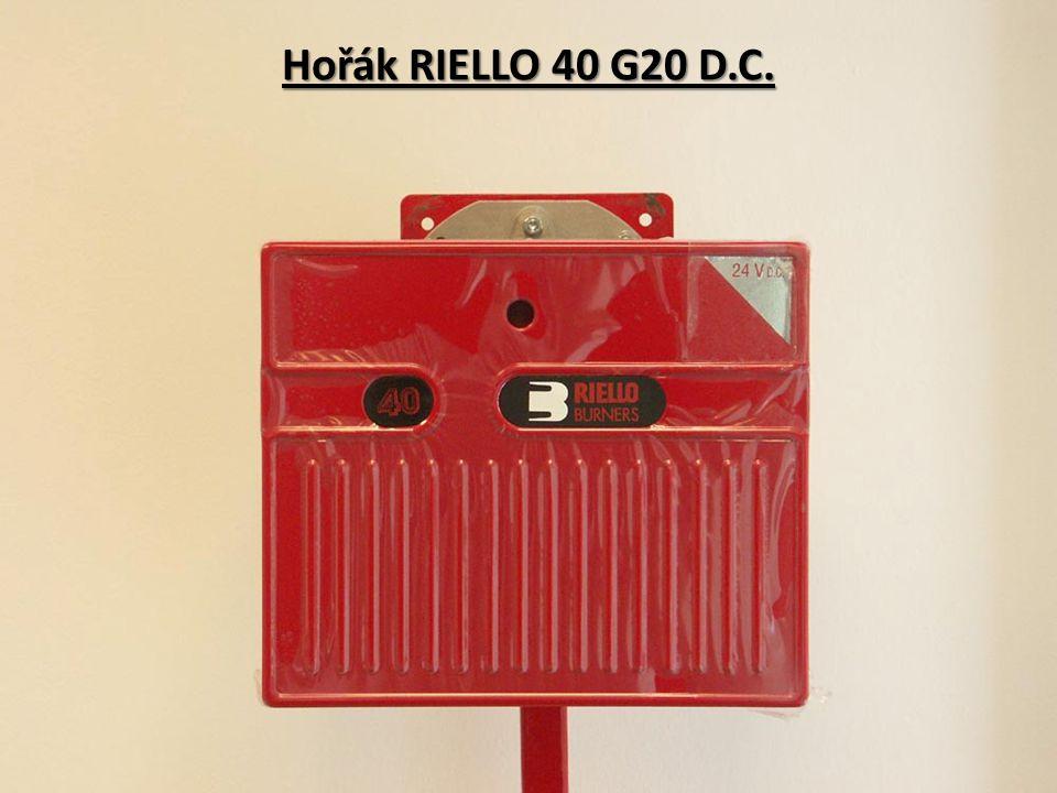 Hořák RIELLO 40 G20 D.C.
