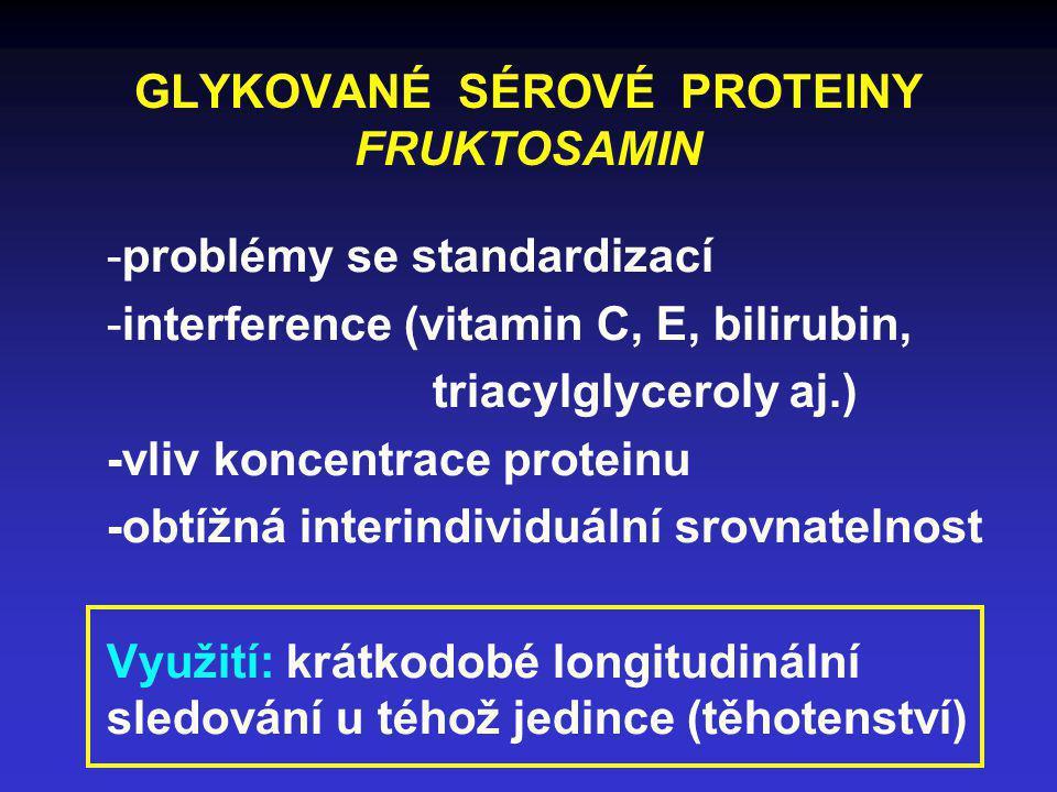 GLYKOVANÉ SÉROVÉ PROTEINY FRUKTOSAMIN