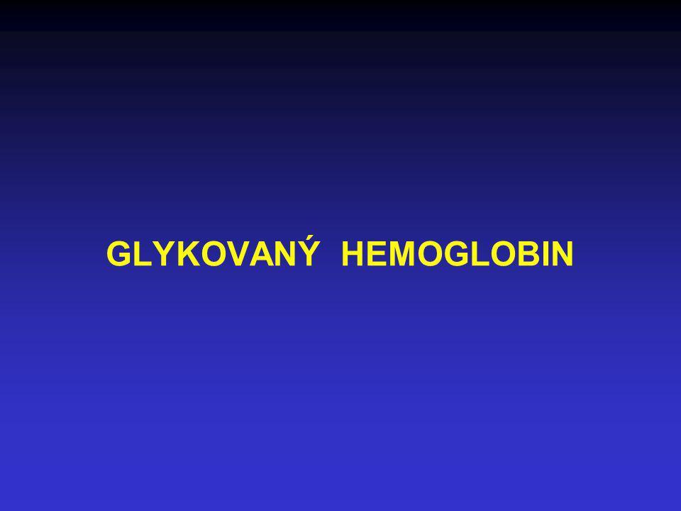 GLYKOVANÝ HEMOGLOBIN