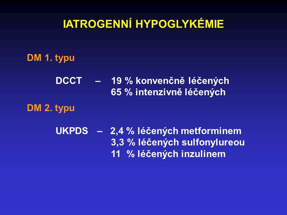 IATROGENNÍ HYPOGLYKÉMIE
