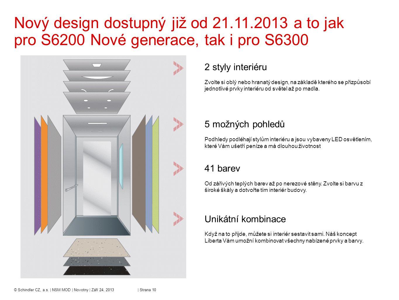 Nový design dostupný již od 21. 11