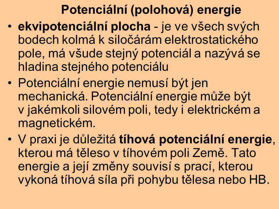 Potenciální (polohová) energie