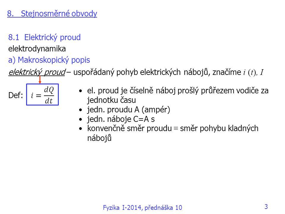 a) Makroskopický popis