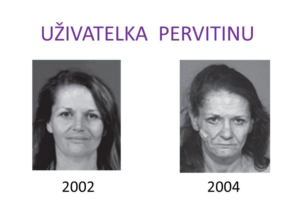 UŽIVATELKA PERVITINU 2002 2004