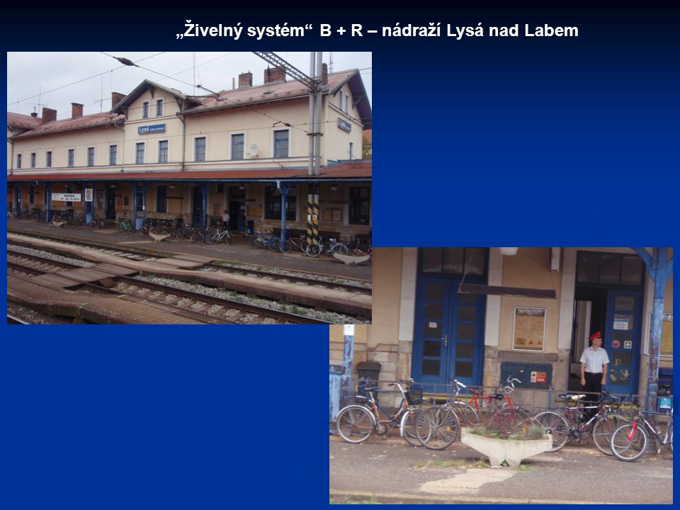 """""""Živelný systém B + R – nádraží Lysá nad Labem"""