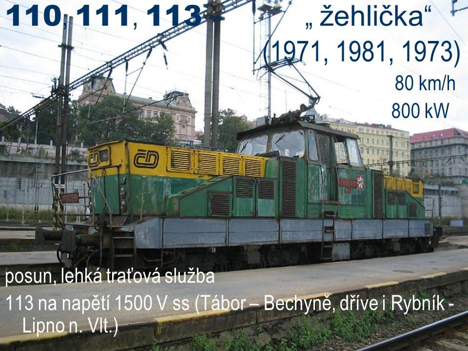 """110, 111, 113 – """" žehlička (1971, 1981, 1973)"""