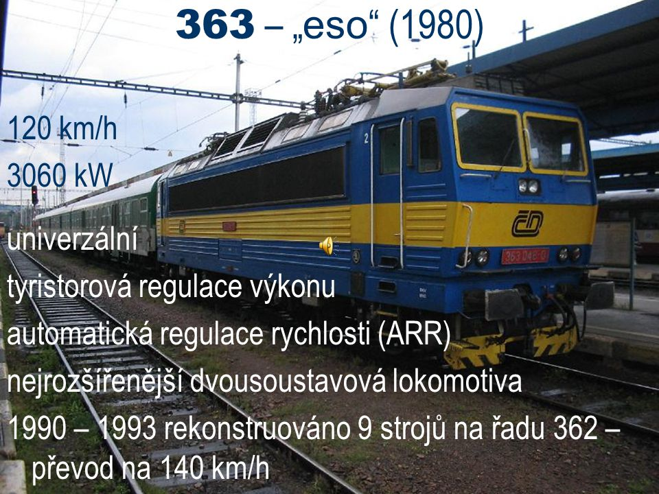 """363 – """"eso (1980) 120 km/h 3060 kW univerzální"""