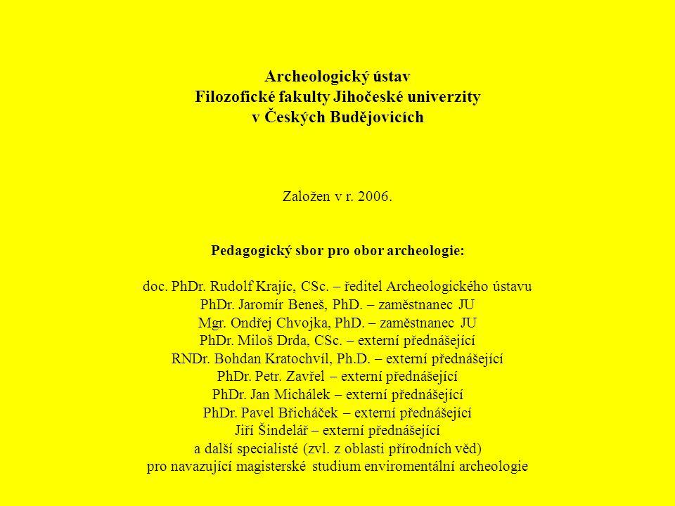 Filozofické fakulty Jihočeské univerzity v Českých Budějovicích