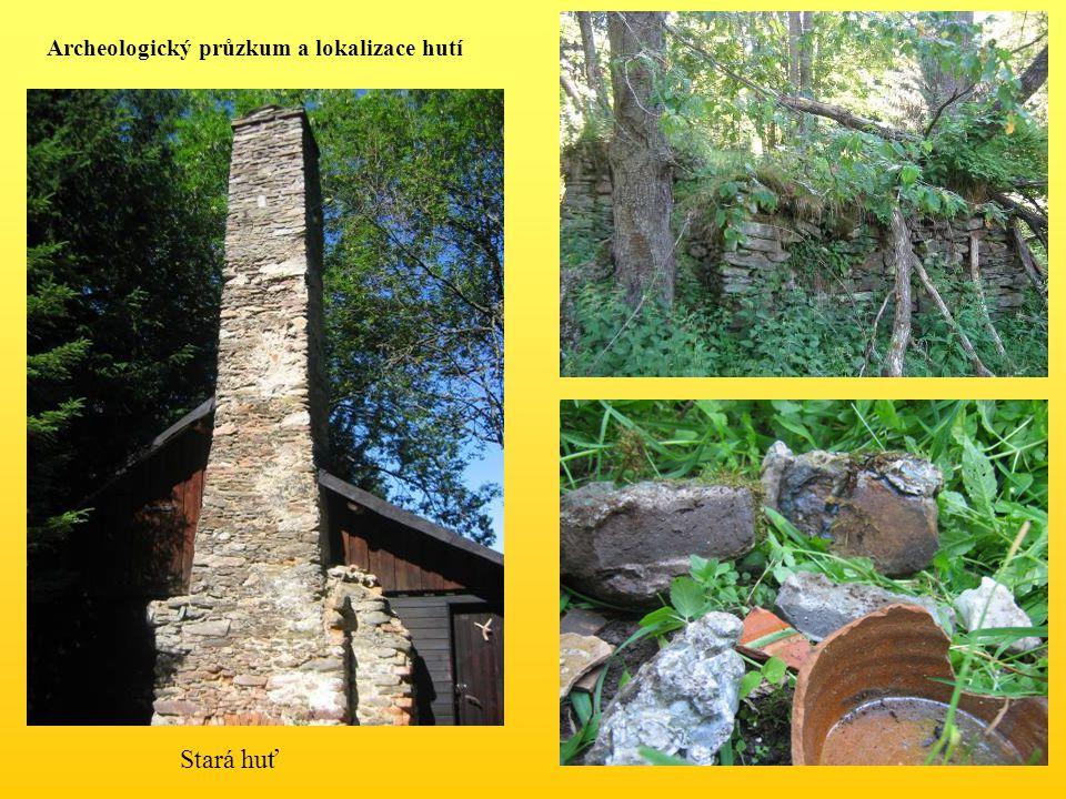Archeologický průzkum a lokalizace hutí