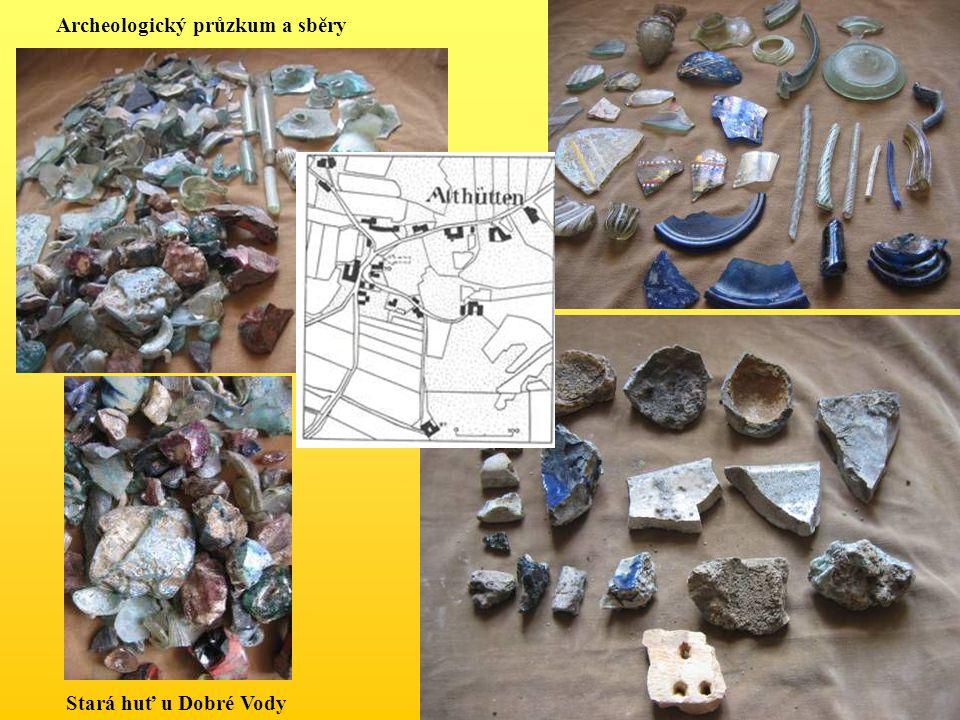 Archeologický průzkum a sběry