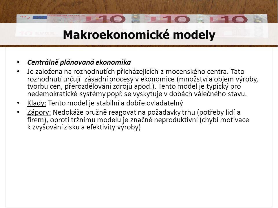Makroekonomické modely