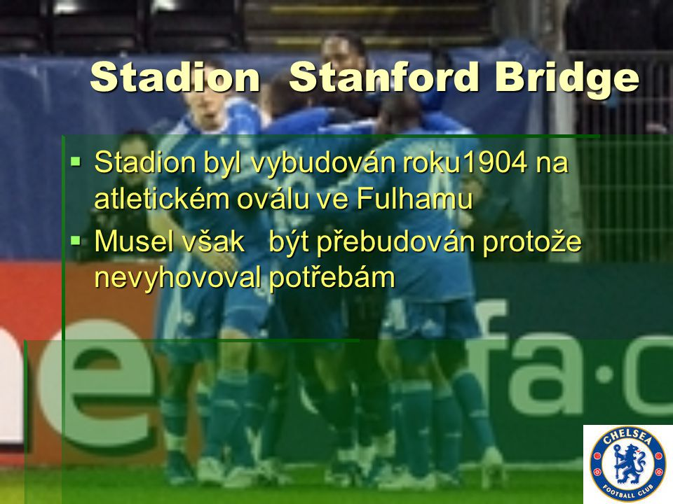 Stadion Stanford Bridge