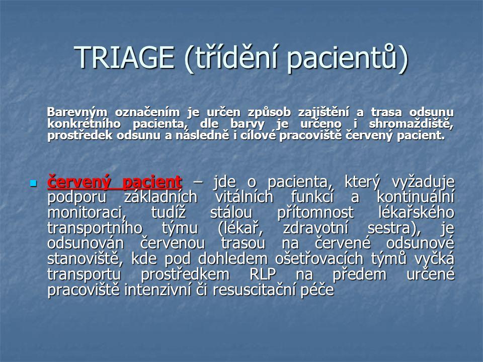 TRIAGE (třídění pacientů)