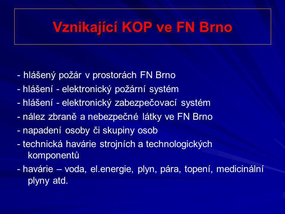 Vznikající KOP ve FN Brno