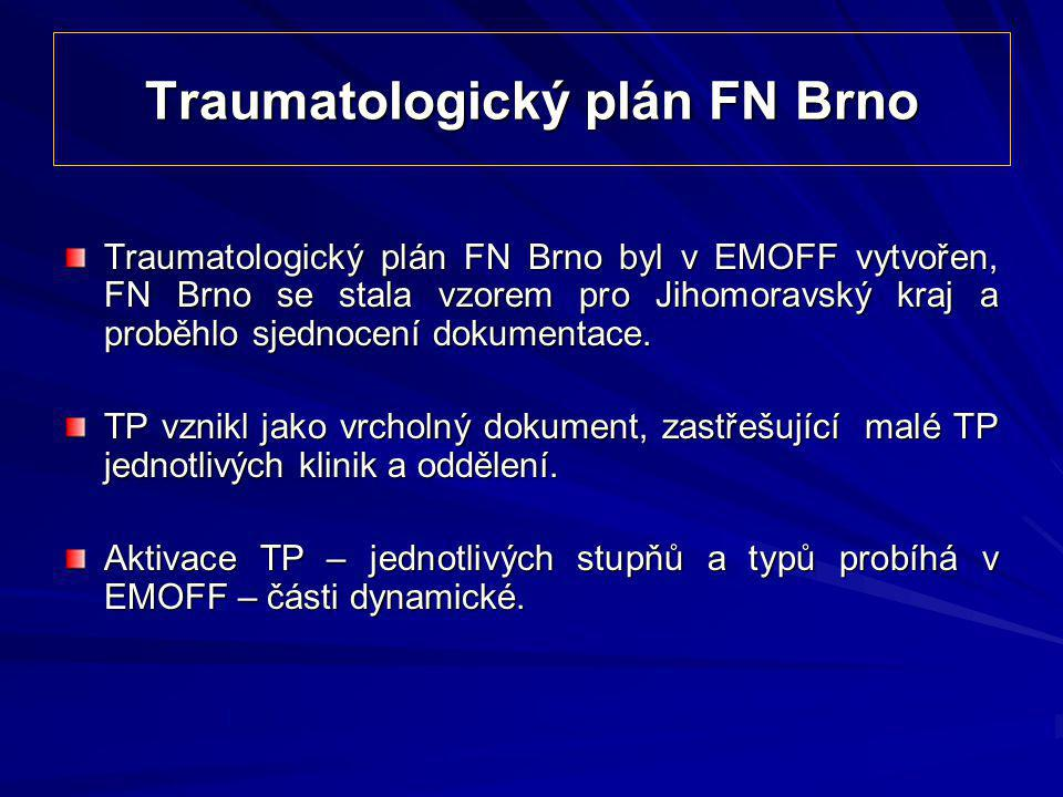 Traumatologický plán FN Brno