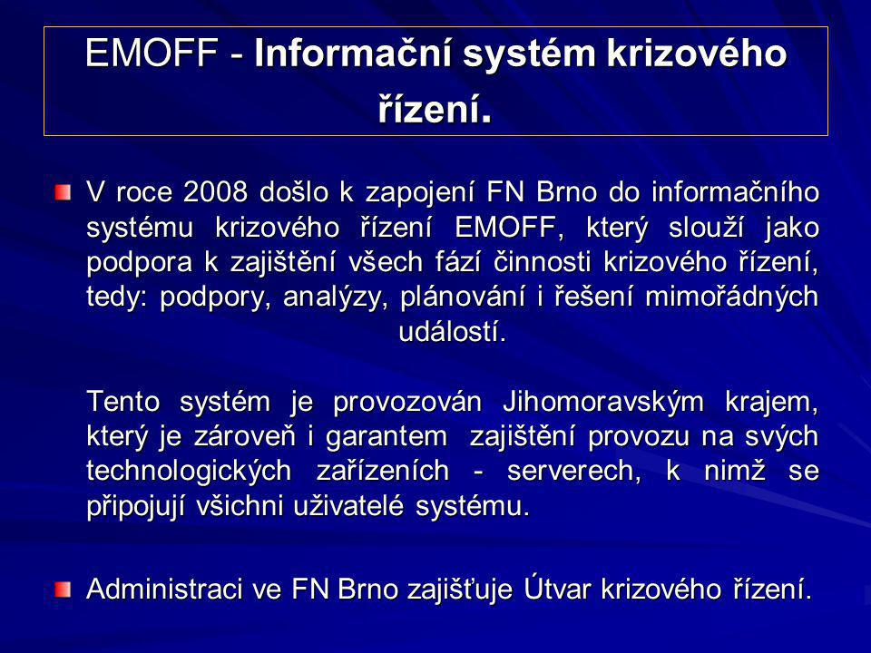 EMOFF - Informační systém krizového řízení.