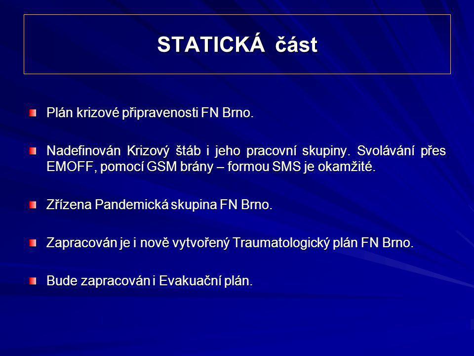 STATICKÁ část Plán krizové připravenosti FN Brno.