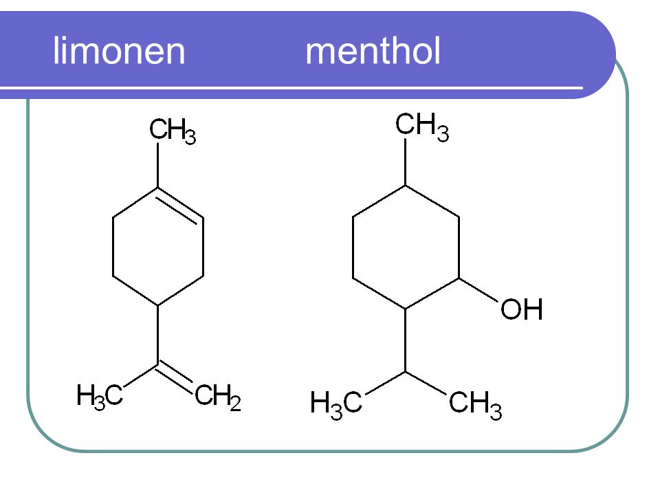 limonen menthol