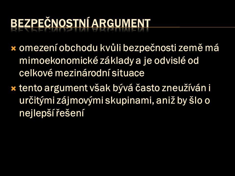 bezpečnostní argument