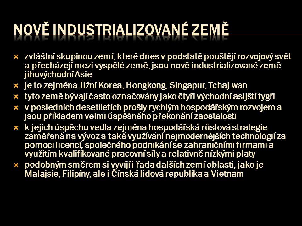 Nově industrializované země
